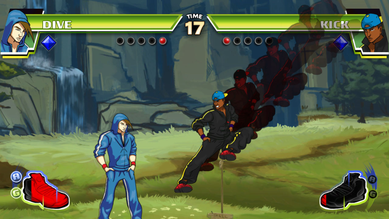 Divekick - Two-button fighting game for PS3, PS Vita and Steam